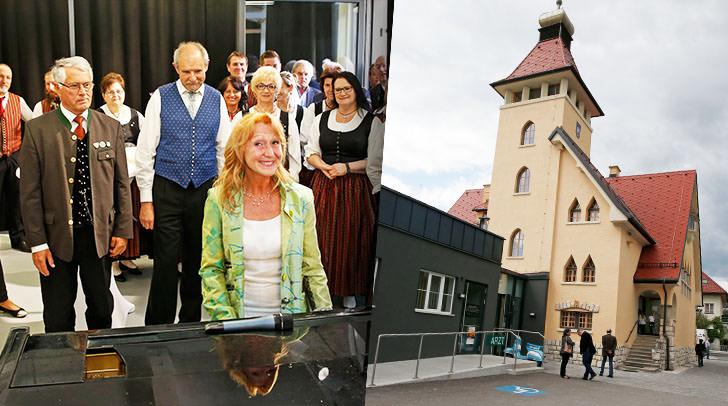 Eröffnung der neuen Alban Berg Musikschule in Velden mit Direktorin Barbara Lerchbaumer-Gabalier