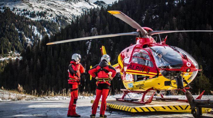 Flugrettung Hubschrauber Heli Rettung Helikopter