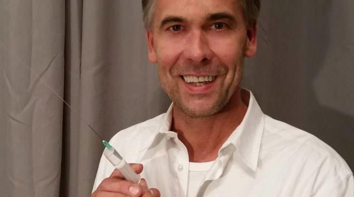 Schon über 200 Personen hat Anton Pruntsch in seiner Praxis geimpft. Aktuell fehlt dazu allerdings der