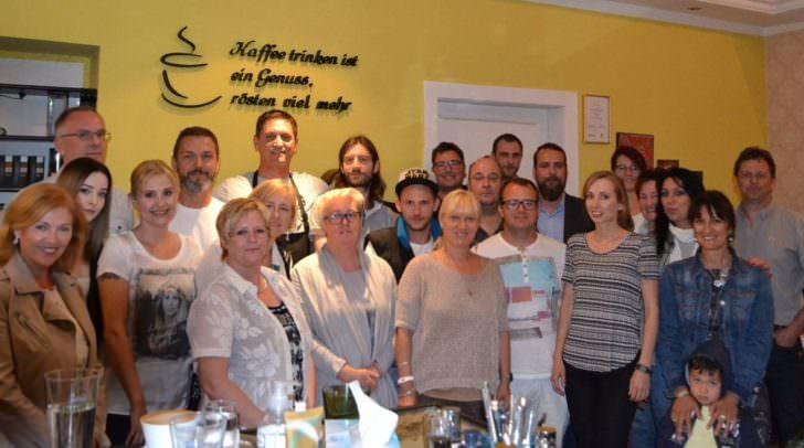 Netzwerktreffen im Caffee La Mattina in Villach