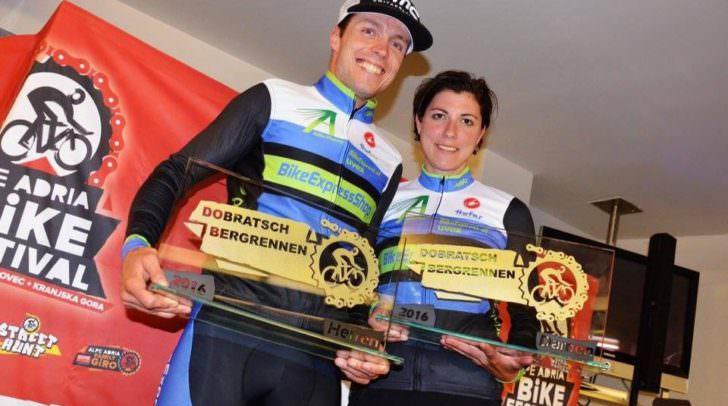 Chris Nindl und Simone Kumhofer: Für die Villacherin Kumhofer begann das Alpe-Adria Bikefestival mit einer Top-Leistung am Dobratsch