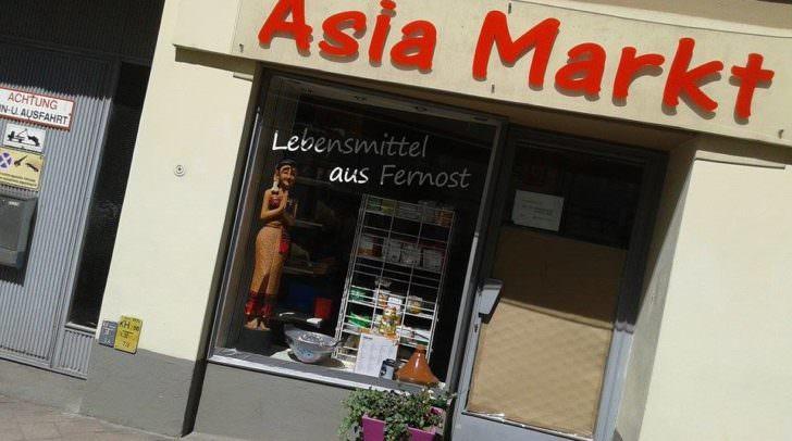 Asia Markt, Italienerstraße