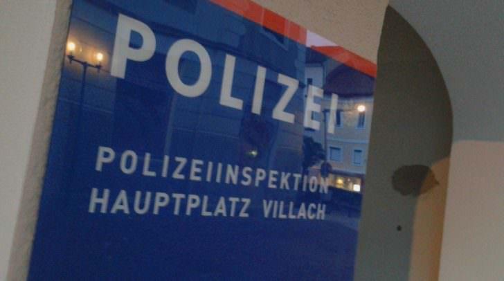 Der Mann wurde festgenommen und ins Polizeianhaltezentrum Villach überstellt