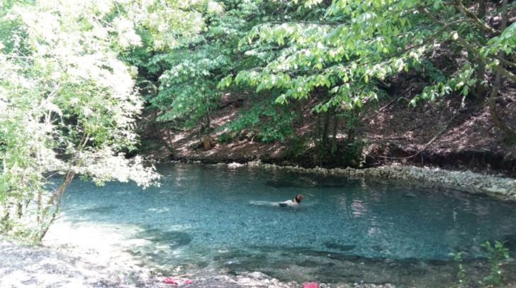 """Das Naturschauspiel """"Maibachl"""" ist auch im Sommer ein Insider-Tipp der Villacher"""