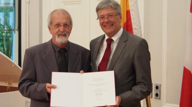 Bernhard Wolfsgruber wurde vor kurzem besonders geehrt
