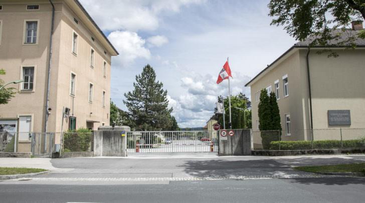 Kletterhalle Baustelle Kaserne Lutschonig