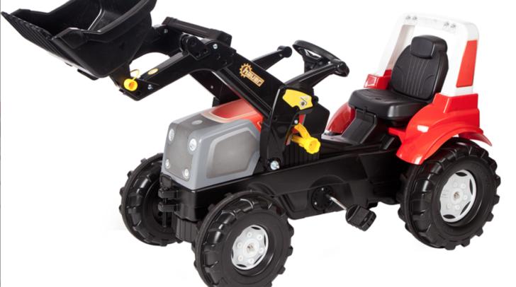 Diesmal gibt es einen coolen Kindertraktor zu gewinnen! Viel Glück!