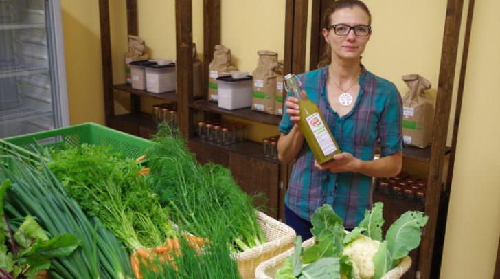 Geschäftsführerin Desirée Schellander wird Bio-Lebensmittel nun nach Hause liefern lassen