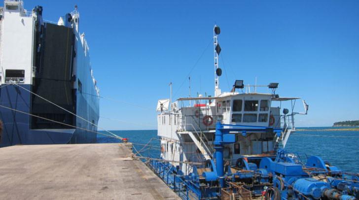 Der Hafen bietet Österreich/Kärnten Zugang zu besserem Import und Export