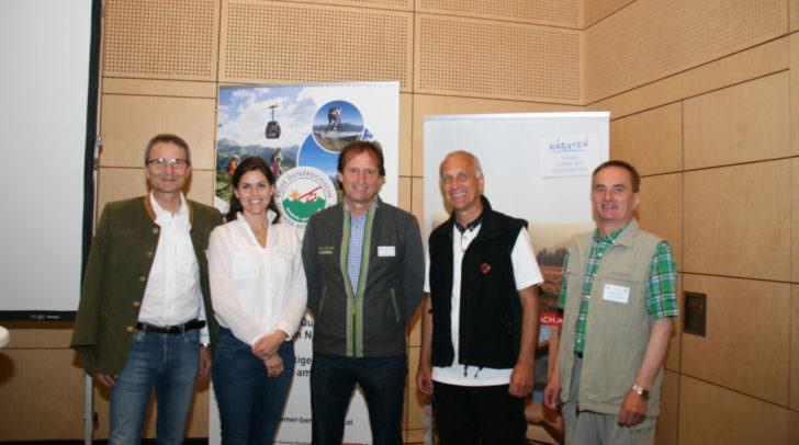 Vertreter von …sterreichs Wanderdšrfern und …sterreichs Besten Sommer-Bergbahnen feierten ihre JubilŠen im Mountain Resort Feuerberg in Bodensdorf