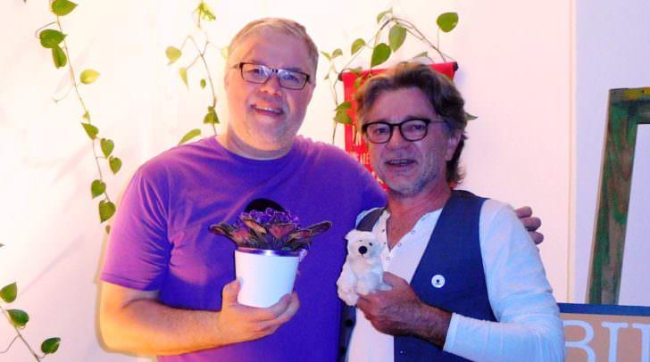 Alles im violetten Bereich bei Gerhard Benigni und Christian Lehner