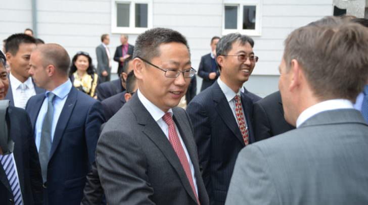 LR Christian Benger begrüßte hochrangige chinesische Delegation;