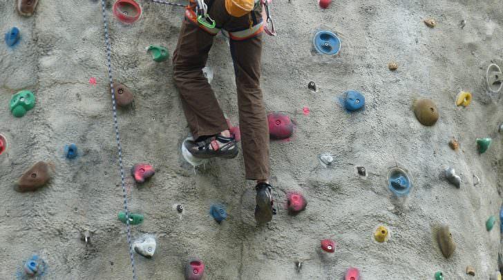 Klettern, Kletterwand, Sport