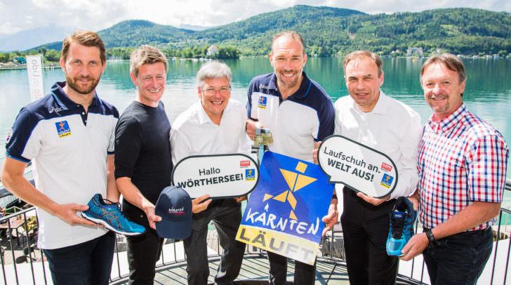 """Auftaktveranstaltung von """"Kärnten Läuft 2016"""""""