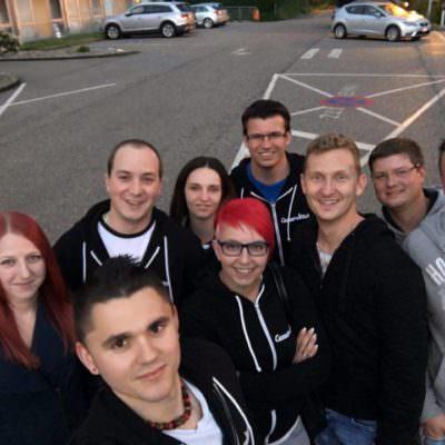 Die Gruppe des Carmeeting Villach