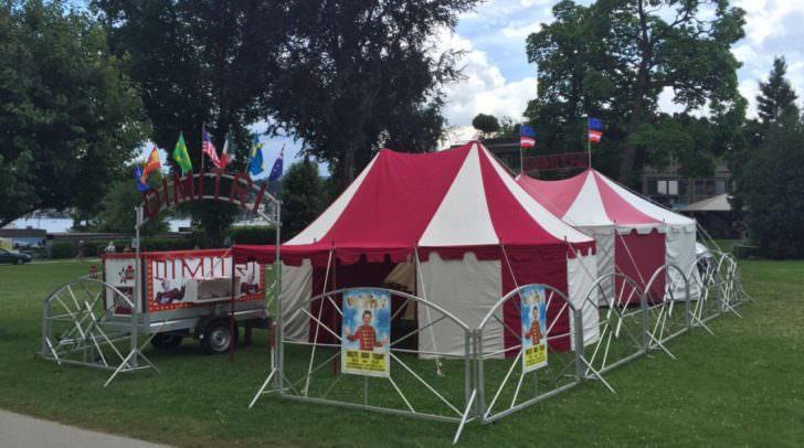 """""""Circus Dimitri"""" ist der kleinste Zirkus der Welt"""