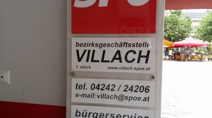SPÖ Parteizentrale in Villach
