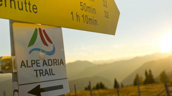 Die Urlauberin aus Deutschland war alleine auf dem Alpe Adria Trail unterwegs.