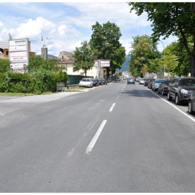 Zusammenhängend mit dem Bau der Kletterhalle, soll der gesamte Straßenzug der Italiener Straße, von der Richard-Wagner-Straße bis zur KMF-Kreuzung, umfassend modernisiert werden.