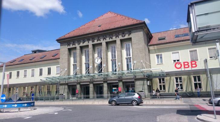 Der Villacher Hauptbahnhof konnte seine Wertung im Vorjahresvergleich verbessern