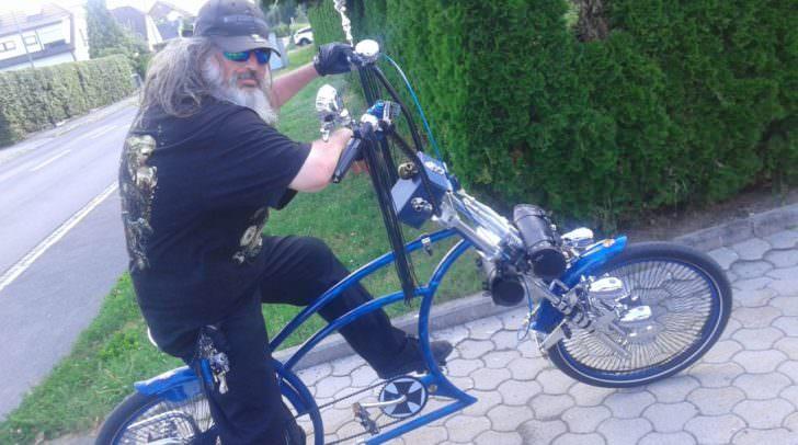 """""""Pimp up my Bike"""" genial umgesetzt: Norbert und sein Fahrrad!"""
