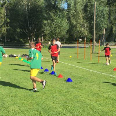Ausdauer, Koordination und Schnelligkeit werden Trainiert