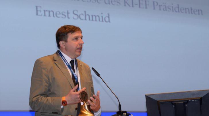 Ernest Schmid ist Präsident von Kiwanis Europa und lebt in Treffen am Ossiachersee