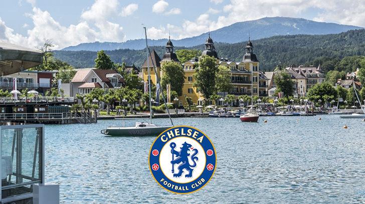 Der FC Chelsea gastiert im Falkensteiner Hotel Velden