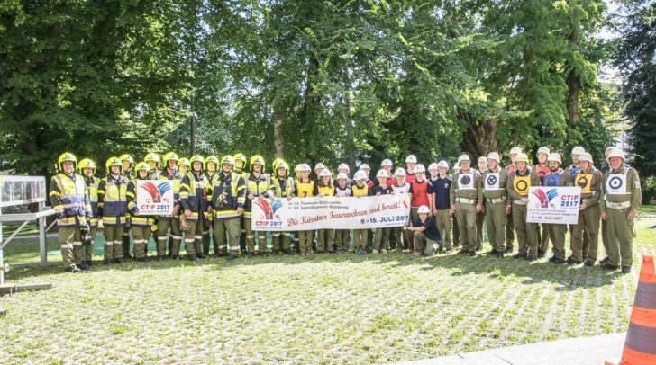 Feuerwehrolympiade 2017 in Villach