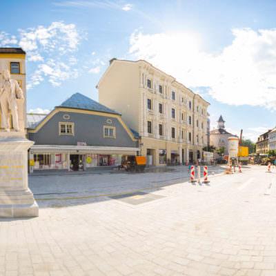 ... der neue Hans Gasser Platz ...