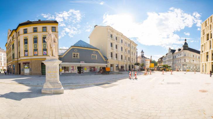 … der neue Hans Gasser Platz …