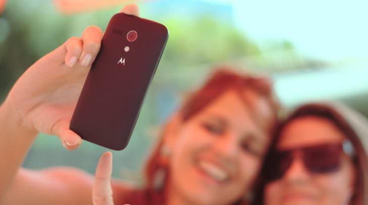 Smartphone, Handy, Selfie