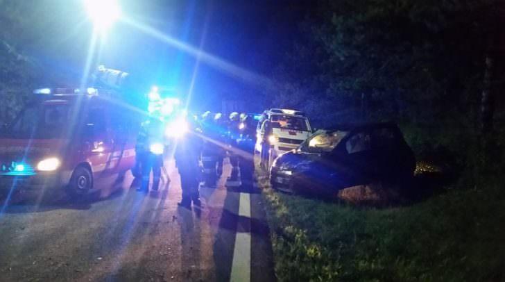 40 Mann waren mit der Sicherstellung des Fahrzeugs beschäftigt