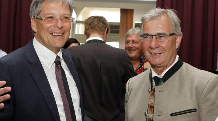 LH Dr. Peter Kaiser und Stadtrat Harald Sobe.