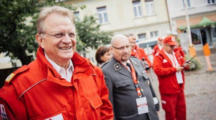 Seit 1997 steht Ambrozy an der Spitze des Roten Kreuzes