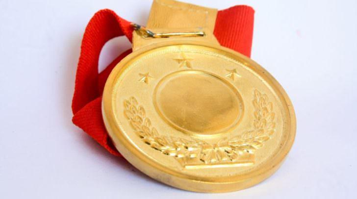 Sieger, Medaille, Gewinner