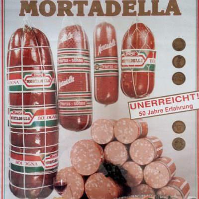 """""""Unerreicht! 50 Jahre Erfahrung"""" – Frierss Werbeplakat aus dem Jahre 1991"""