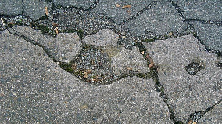 Die Schäden auf der Villacher Straße sollen entfernt werden