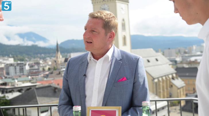 Günther Albel im Sommergespräch mit 5 Minuten Villach