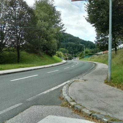 Die Bleibergstraße wird viel zu schnell befahren.