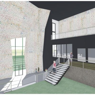 Die Pläne für das Gebäude wurden bereits eingereicht.