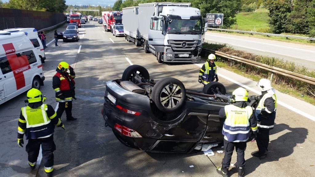 Unfall Wernberg
