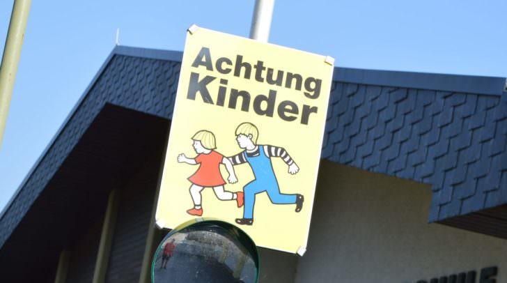 Schulkinder, Volksschule Pogöriach,