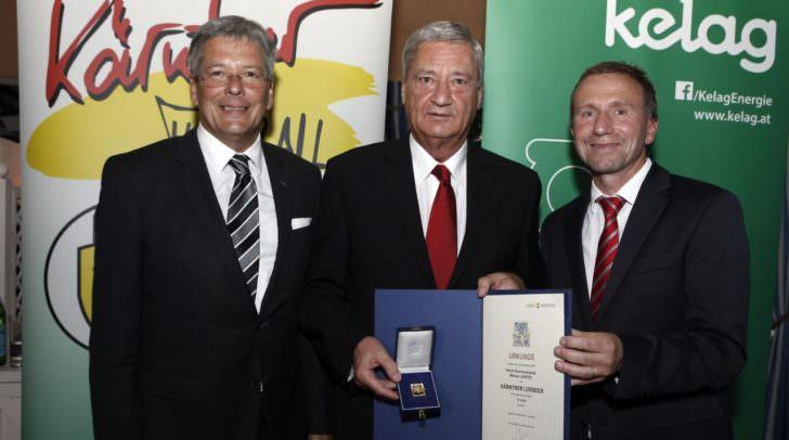 LH Peter Kaiser, KR Werner Lippitz und Praesident Mag. Klaus Mitterdorfer
