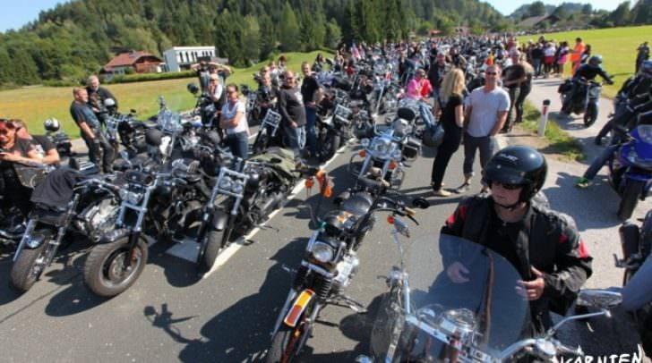 Auch in den letzten Jahren versammelten sich zahlreiche Harley-Fans an den Hotspots.