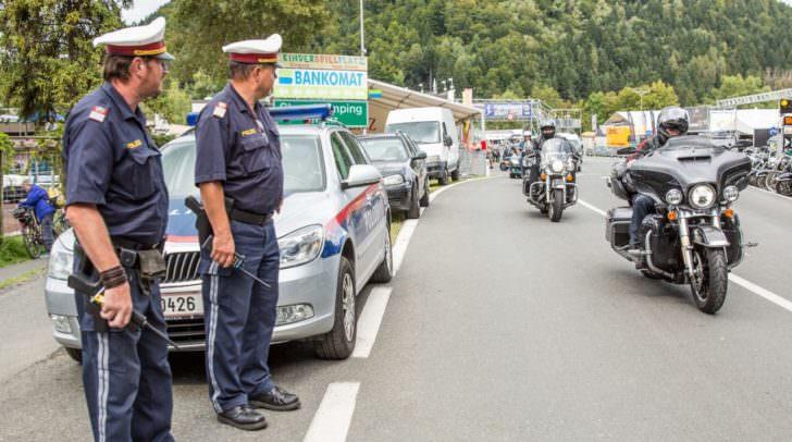 Polizei Faak Harley Bike