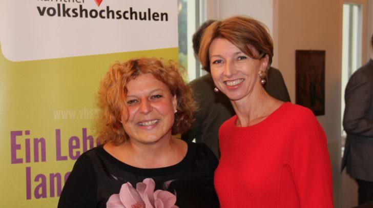 LHStv.in Gaby Schaunig mit GF Beate Gfrerer