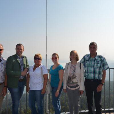 GR Michael Flor, Bgm. Christian Hecher, Ersatz-GR Rosi Michenthaler, GR Monika  Martl, GV Sandra Walkshofer, GR Herbert Kramer