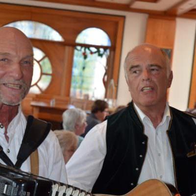 Für die musikalische Umrahmung sorgten Willi Kügler & Helmut Götzinger