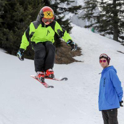 School on Snow Skifahren